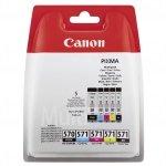 Canon oryginalny ink PGI-570/CLI-571 GBK/BK/C/M/Y Multi Pack, black/color, 0372C004, Canon Pixma MG575x, MG685x, MG775x