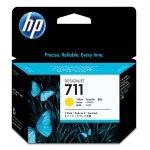 HP oryginalny ink CZ136A, HP 711, yellow, 3x29ml, 3szt, HP DesignJet T120, T520