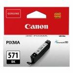 Oryginalny, kompatybilny Tusz Canon CLI-571BK do  Pixma MG-5750/6850/7750 | 7ml |   black