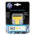 Oryginalny, kompatybilny Tusz HP 363 Vivera do Photosmart 3210/3310/8250 | 400 str. | yellow