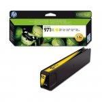 Tusz HP 971XL do Officejet Pro X451DW/476DW/551DW/576DW   6 600 str.   yellow