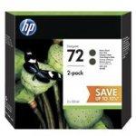 Tusz HP 2-Pack 72 Designjet T610/1100/1200/1300| 2x130ml | matte black