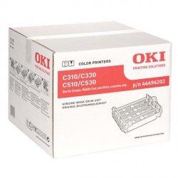 OKI oryginalny bęben 44494202, CMYK, 20000s, OKI C310, C330, C510, C530