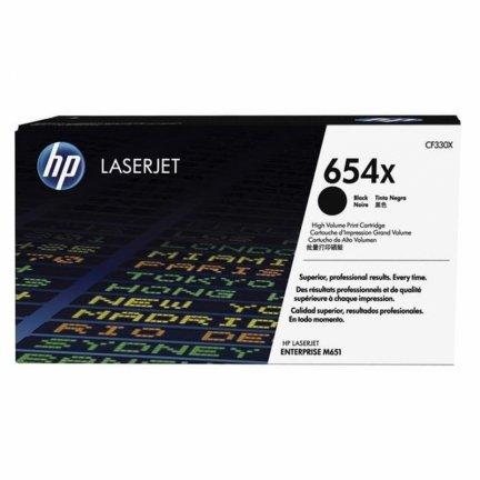 Toner HP 654X do Color LaserJet Enterprise M651  20 500 str.   black