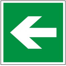 Znak kierunek drogi ewakuacyjnej 114 (F.F.)