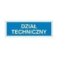 Znak DZIAŁ TECHNICZNY 801-76 P.Z.