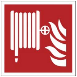Znak hydrant wewnętrzny F02 (FF)