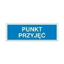 Znak PUNKT PRZYJĘĆ  801-80 F.Z.