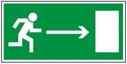 Kierunek do wyjścia drogi ewakuacyjnej w prawo 102  (PF)