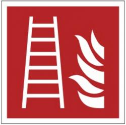 Znak drabina pożarowa F03 (PZ)