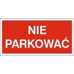 Znak NIE PARKOWAĆ 704-13