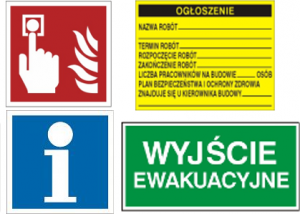Gaśnice Warszawa: Sklep PożarPoż - znaki ewakuacyjne, gaśnice, PPOŻ i BHP