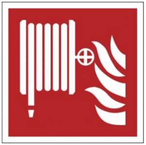 Znak hydrant wewnętrzny F02 (FZ) 150x150
