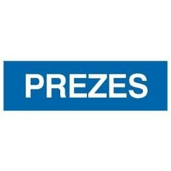 Znak PREZES 801-27 F.Z.