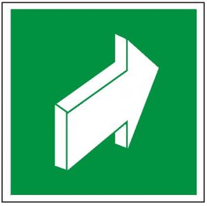 Znak pchać aby otworzyć 112 (P.F.)