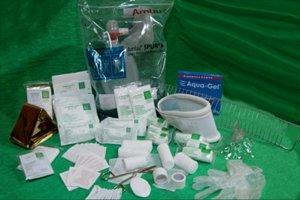 Wyposażenie apteczki pierwszej pomocy PK-6 + ustnik