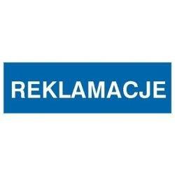 Znak REKLAMACJE 801-34 F.Z.