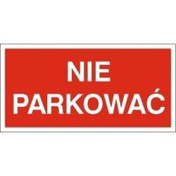 Znak NIE PARKOWAĆ 813