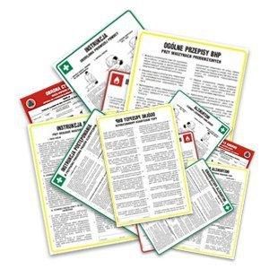 Instrukcja BHP dla magazynu smarów i olejów 422-115
