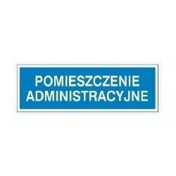 Znak POMIESZCZENIE ADMINISTRACYJNE 801-87 P.Z.