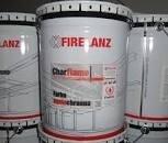CHARFLAME Farba ogniochronna do stali biała