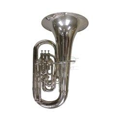 BESSON tuba Eb Sovereign BE9812-S posrebrzana, 4 wentyle (3+1), z futerałem