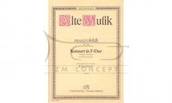 Danzi, Franz: KONZERT F-DUR: na fagot i orkiestrę (wyciąg fortepianowy)