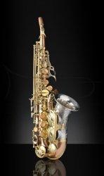 RAMPONE&CAZZANI saksofon sopranowy TWO VOICES, 2004/TV/BRS, zagięty