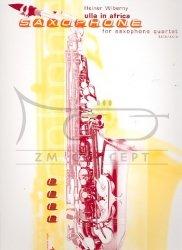 Wiberny, Heiner Ulla in Africa: na 4 saksofony (SATB/AATB) - partytura + głosy