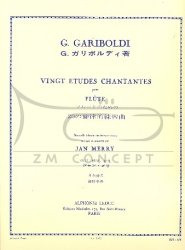 Gariboldi, Guiseppe: 20 études chantantes op. 88 na flet