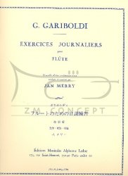 Gariboldi, Guiseppe: Exercices journaliers op. 89 na flet