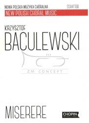 Baculewski Krzysztof, Miserere