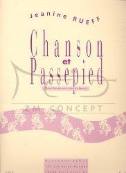 Rueff, Jeanine: Chanson et passepied na saksofon altowy i fortepian