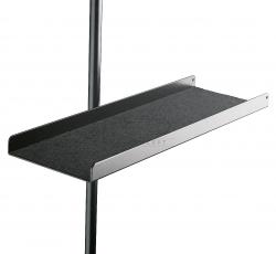 K&M 12218 półka do pulpitu, czarna