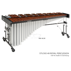 STUDIO49 MARIMBA E profesionalna, model RM 46/M, płytki brzmieniowe z Afrykańskiego Mututi