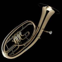 WESSEX tenorhorn BR130 lakierowany, 3 wentyle obrotowe (sakshorn tenorowy)