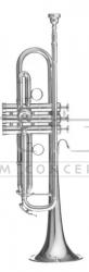 B&S trąbka B Heritage MBXHLR-2-0 posrebrzany, z futerałem