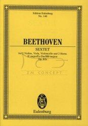 Beethoven: Sextet Es-dur op. 81b - minipartytura