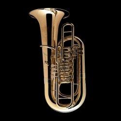 WESSEX tuba F Linz model TF436HL lakierowana, ręcznie wykonana, 6 wentyli obrotowych, z futerałem