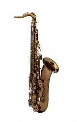 RAMPONE&CAZZANI saksofon tenorowy PERFORMANCE LINE, lakierowany - ciemny lakier klarowny, z futerałem GoBag
