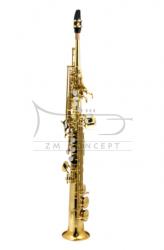 TREVOR JAMES saksofon sopranowy Bb TJ 'SR, złoty lakier, z futerałem