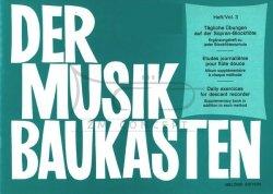 Bodenmann, Hans: Der Musikbaukasten, Band 3 Codzienne ćwiczeniana na flet sopranowy,