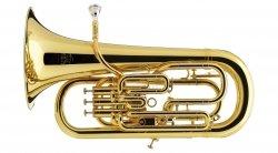 BESSON eufonium Bb Prestige BE2051-1G-0 kompensacyjne (3+1) lakierowane, z futerałem