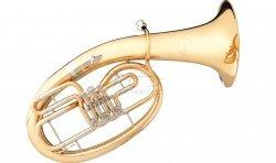 B&S sakshorn barytonowy BS3042G-1-0, lakierowany, 3 wentyle obrotowe, z futerałem