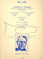 Mule Marcel: Gammes et Arpeges 1st Book: na saksofon