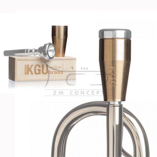 KGU Classic Booster do ustnika trąbki Raw Brass
