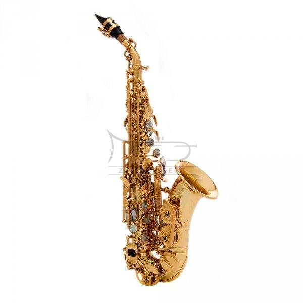 JOHN PACKER saksofon sopranowy JP043CG zagięty, lakierowany, z futerałem