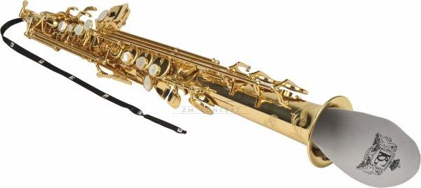 BG A33 wycior do klarnetu Eb / saksofonu sopranowego z obciążnikiem mikrofibra