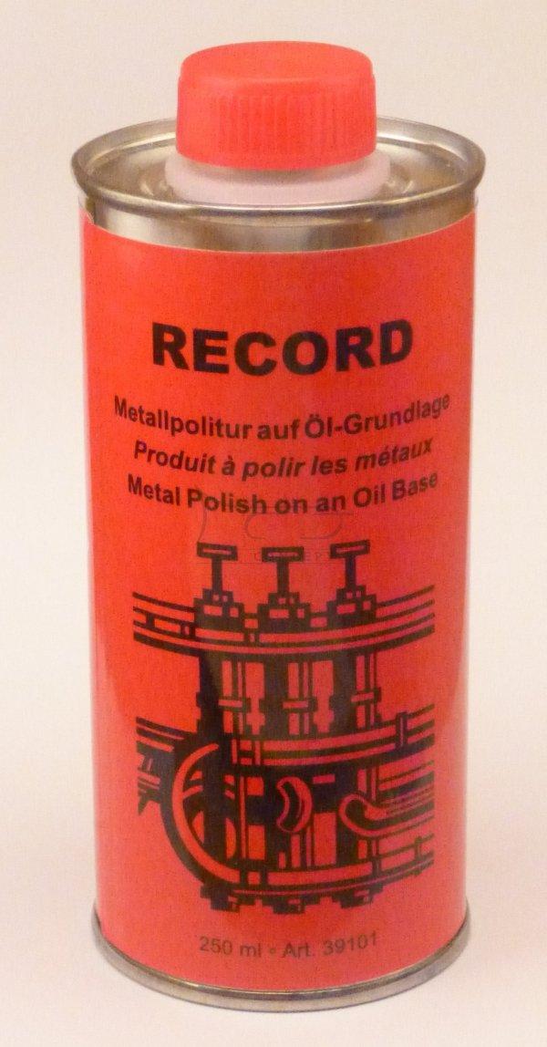 LA TROMBA RECORD Metal Polish (puszka 250 ml) preparat do czyszczenia powierzchni mosiężnych