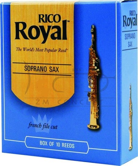 RICO ROYAL stroiki do saksofonu sopranowego - 4,0 (10)